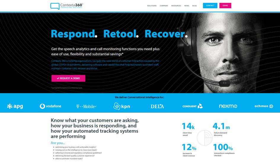 Contexta360 website