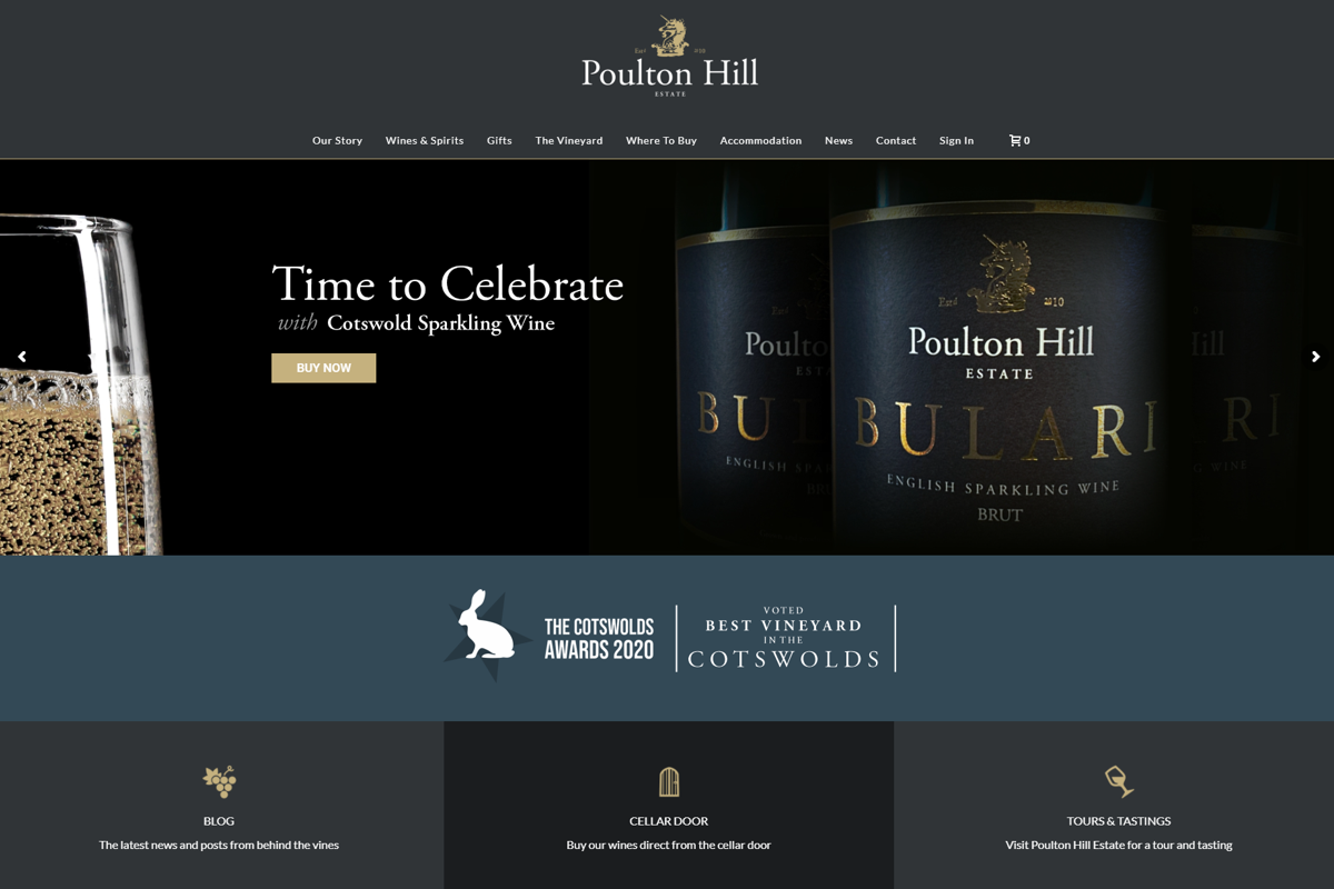 Poulton Hill Vineyard - Website